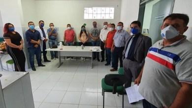 Foto de Abaiara-Ce: vereadores se reúnem com gestão em busca de esclarecimento à covid-19 no município.