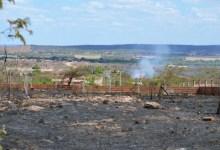 Foto de Milagres-Ce: bombeiros são acionados para apagar incêndio no Sítio Coqueiros; veja vídeo