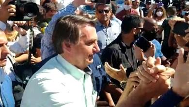 Foto de Bolsonaro cumpriu agenda no estado da Paraíba e fez escala no aeroporto de Juazeiro do Norte Ceará