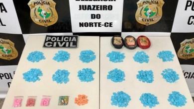 Foto de Mauriti-Ce: Casal é preso em flagrante com 750 comprimidos de Ecstasy
