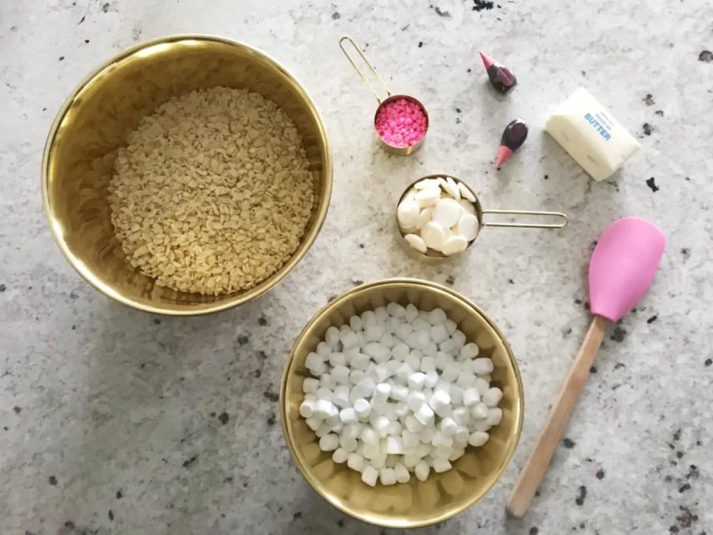 Valentine Rice Krispie Treats
