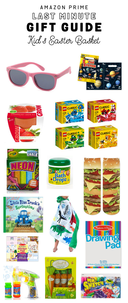 Amazon prime easter basket ideas okayest moms negle Image collections