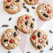 Valentine Monster Cookies