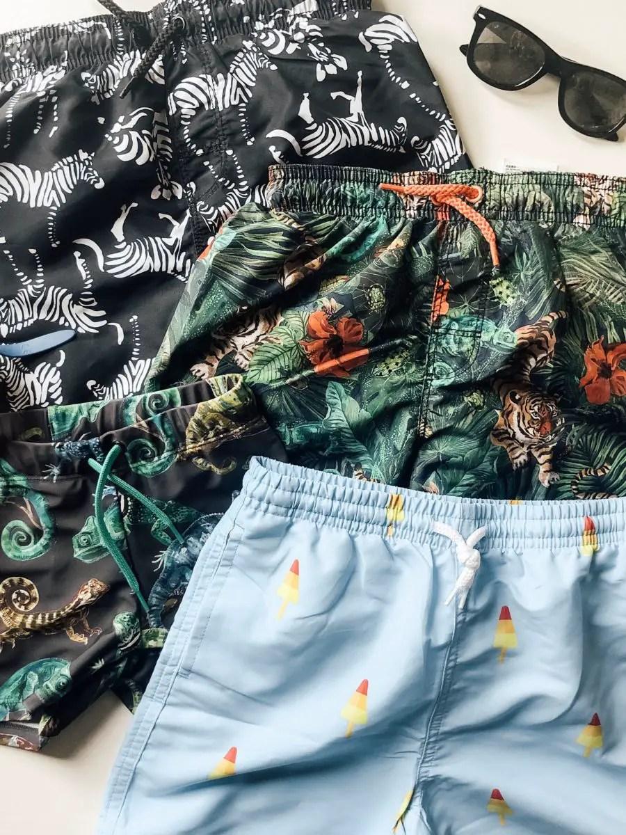 cutest swim trunks