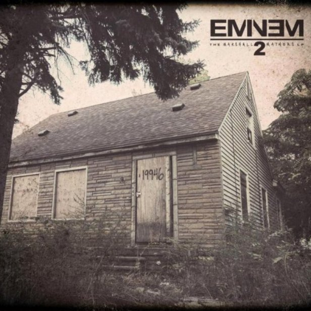Eminem The Marshall Mathers LP 2 Cover