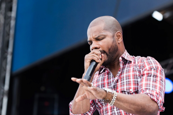 Kirk Franklin says he's tired of arguing with fellow Christians on social media.