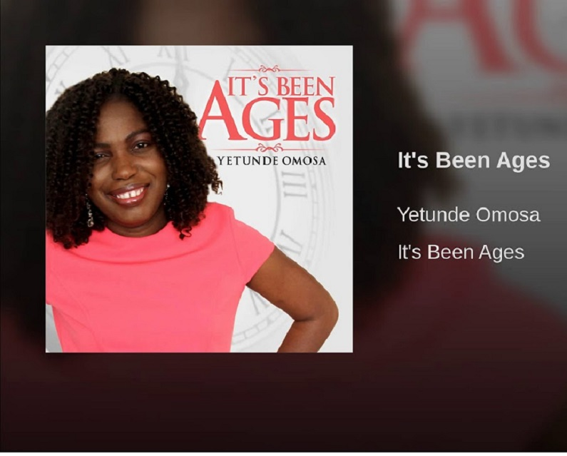 """Yetunde Omosa Releases Her Debut Album Titled """"It's Been Ages"""""""