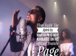 Thus saith the Spirit By Martin Pk