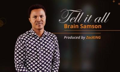 Brain Samson - Obrigado Tell It All