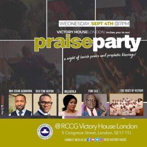 praise party uk