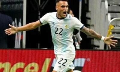 Martinez hat-trick inspires Argentina's win over Mexico