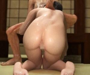 【NTR】支配妖怪に身体を操られ強制奉仕される若妻!それを旦那は見ていることしか出来ない…!
