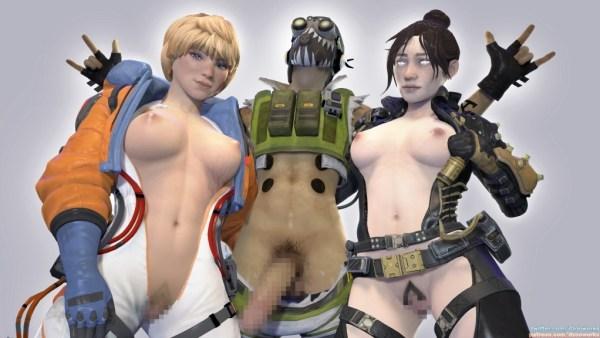 Apex Legends - ワットソンとレイスのエロアニメまとめ 3DCG 10