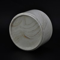 20oz Alabaster Color Marble Ceramic Candle Holder, www ...