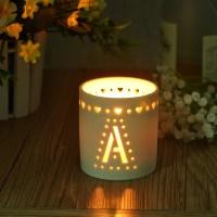Ceramic candle holders cylinder,candle holder porcelain on ...