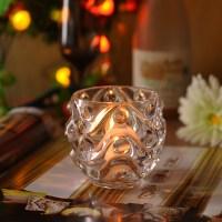 Elegant votive glass candle holder for home decoration ...