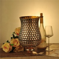 Mosaic glass candle holder votive glass tealight holder ...
