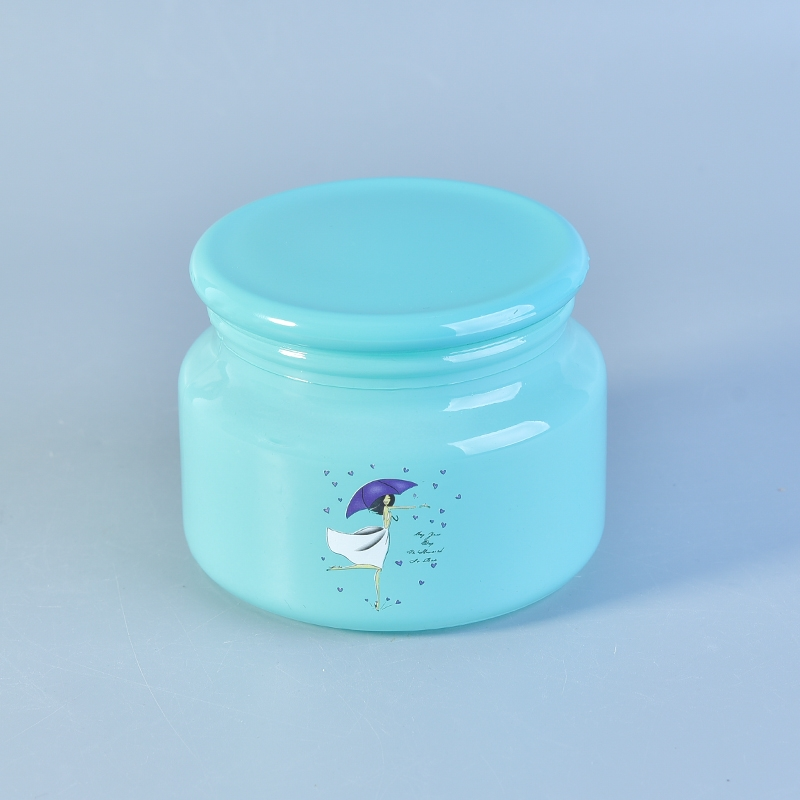home decor glass candle container with lid on okcandlecom