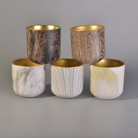 wax cup ceramic pottery candle holders, China ceramic ...