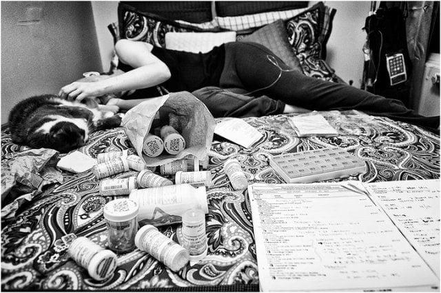 fotografo retrata a su esposa con cancer hasta que muere (14)
