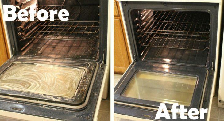 limpieza de horno con bicarbonato y vinagre