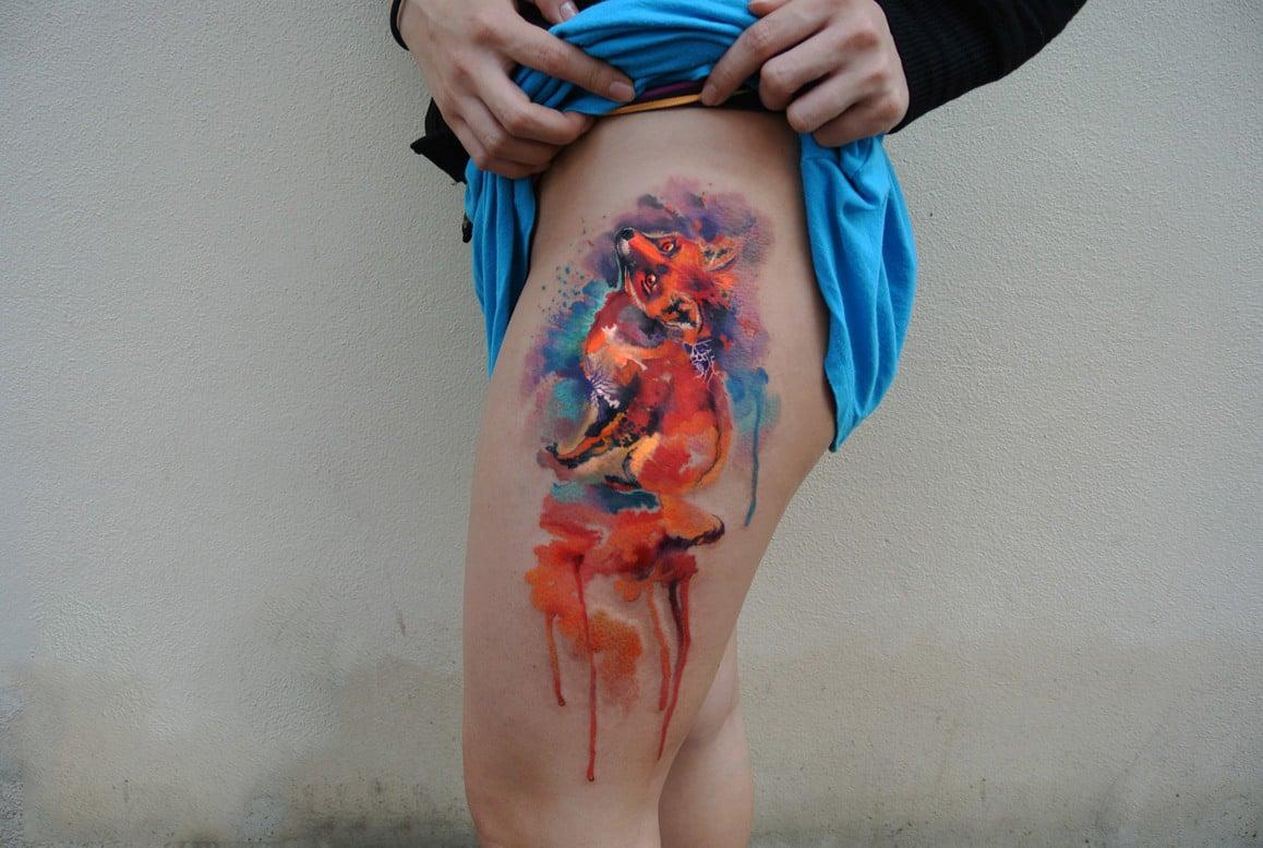Increíble Tatuajes De Acuarela Que Vas A Querer Hacerte