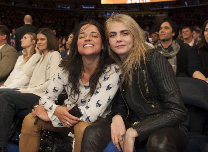 Michelle Rodríguez y Cara Delevingne
