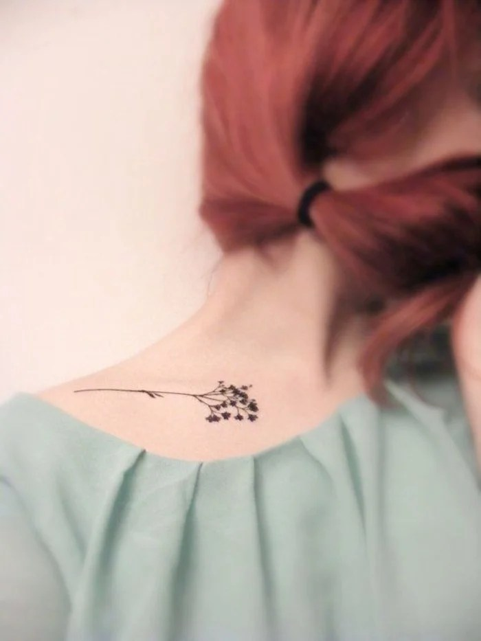 30 Diseños De Tatuajes Minimalistas Para Mujeres Que Amarás