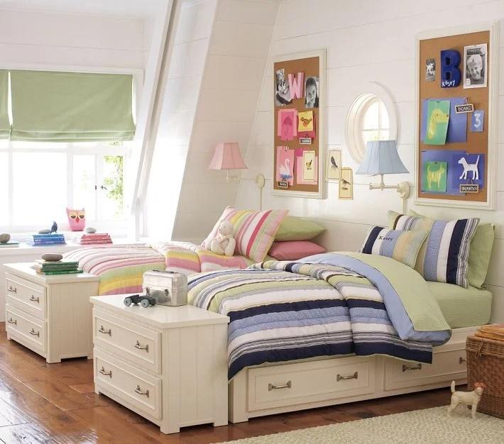 Ideas para disear una habitacin compartida por nio y nia