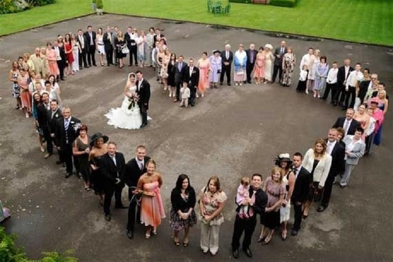 25 Creativas ideas para la sesin de fotos en familia el da de tu boda Sern inolvidables