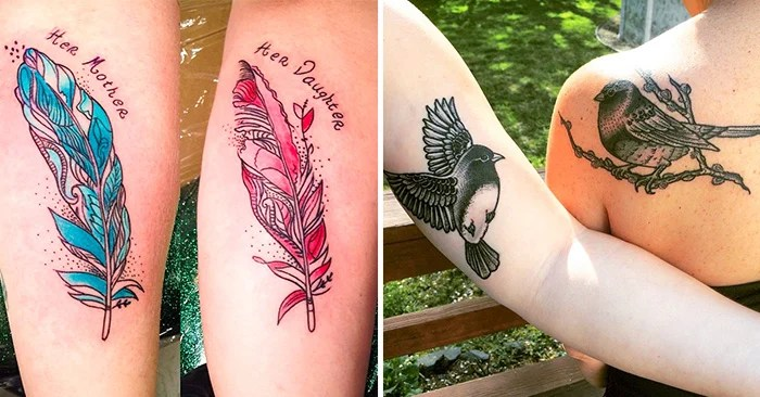 30 Ideas De Tatuajes Para Madre E Hija Sencillos Y Bonitos