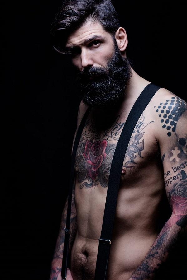 23 Guapos hombres con barba que son los ms sexys del mundo