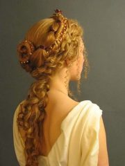 hermosos peinados son dignos