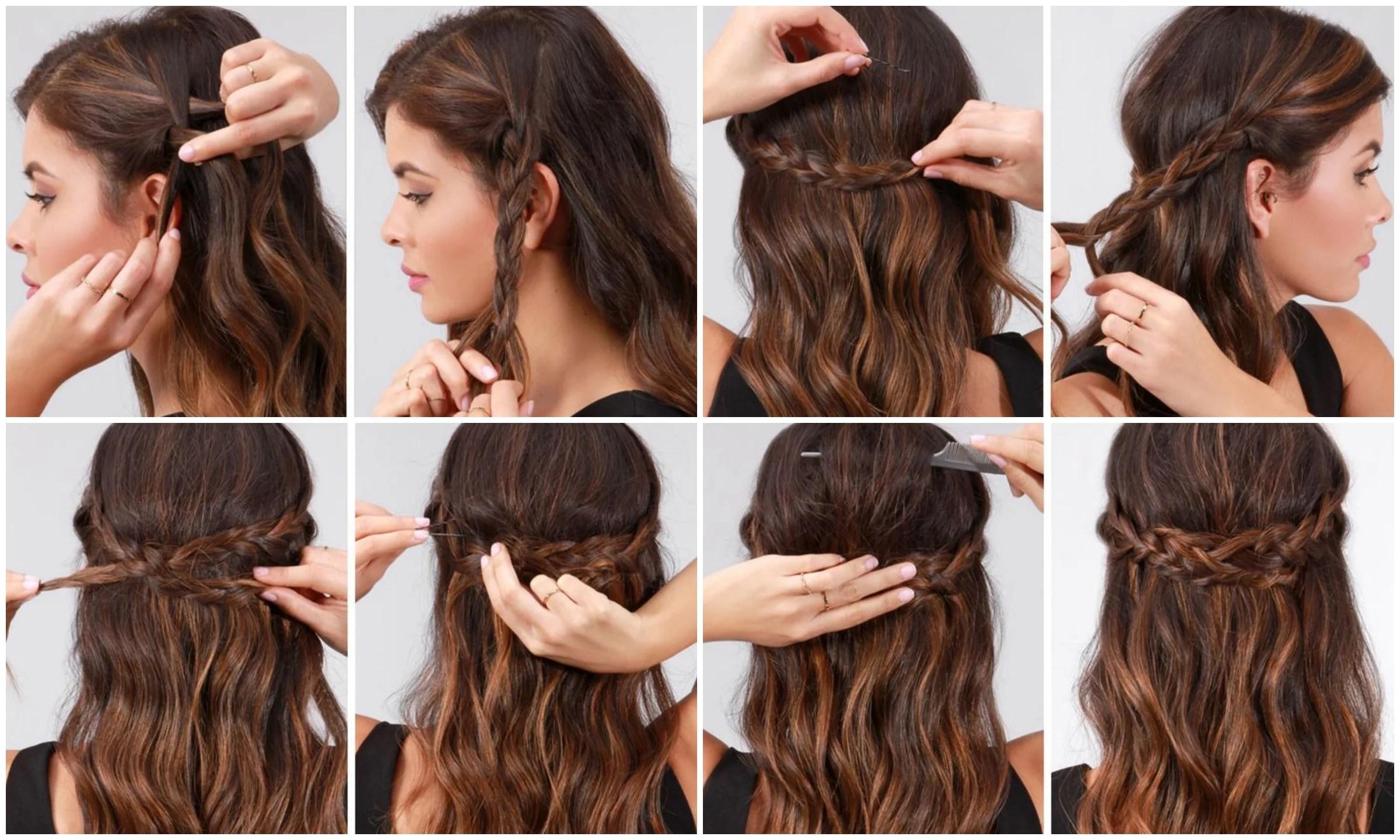 15 Peinados Faciles Para Bodas Pelo Rizado Las Mejores