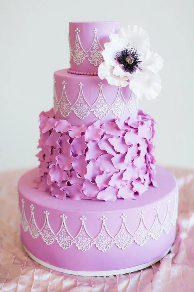 Deliciosos y hermosos pasteles que querrs tener en tu boda