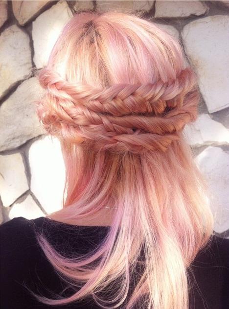El cabello rosadorado es la nueva tendencia mgica del 2016