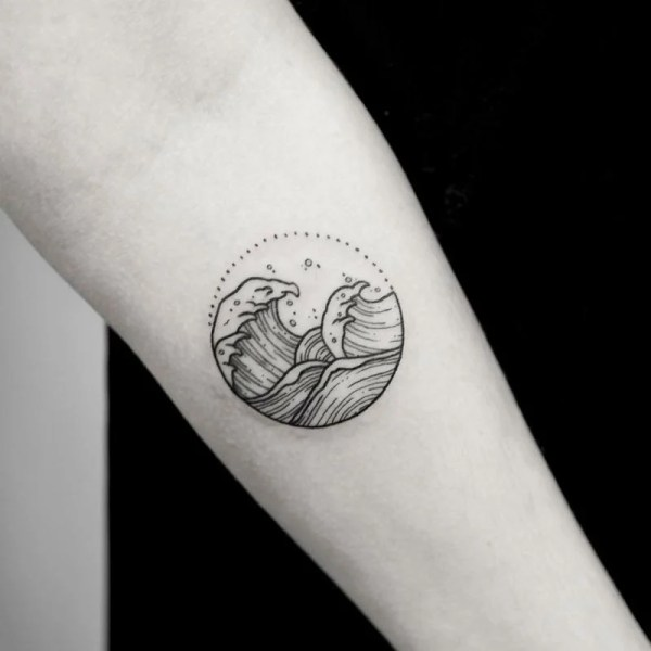 Tatuajes Pequeos Bonitos Para Mujeres Aman El Mar