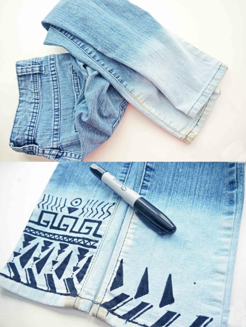 15 creativas ideas con las que podrs renovar tus jeans