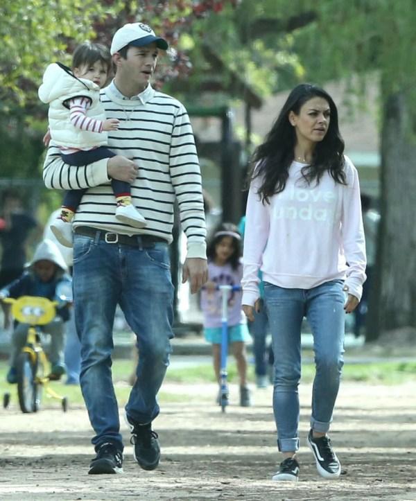 Ashton Kutcher Mila Kunis Criar Sus Hijos Como Pobres