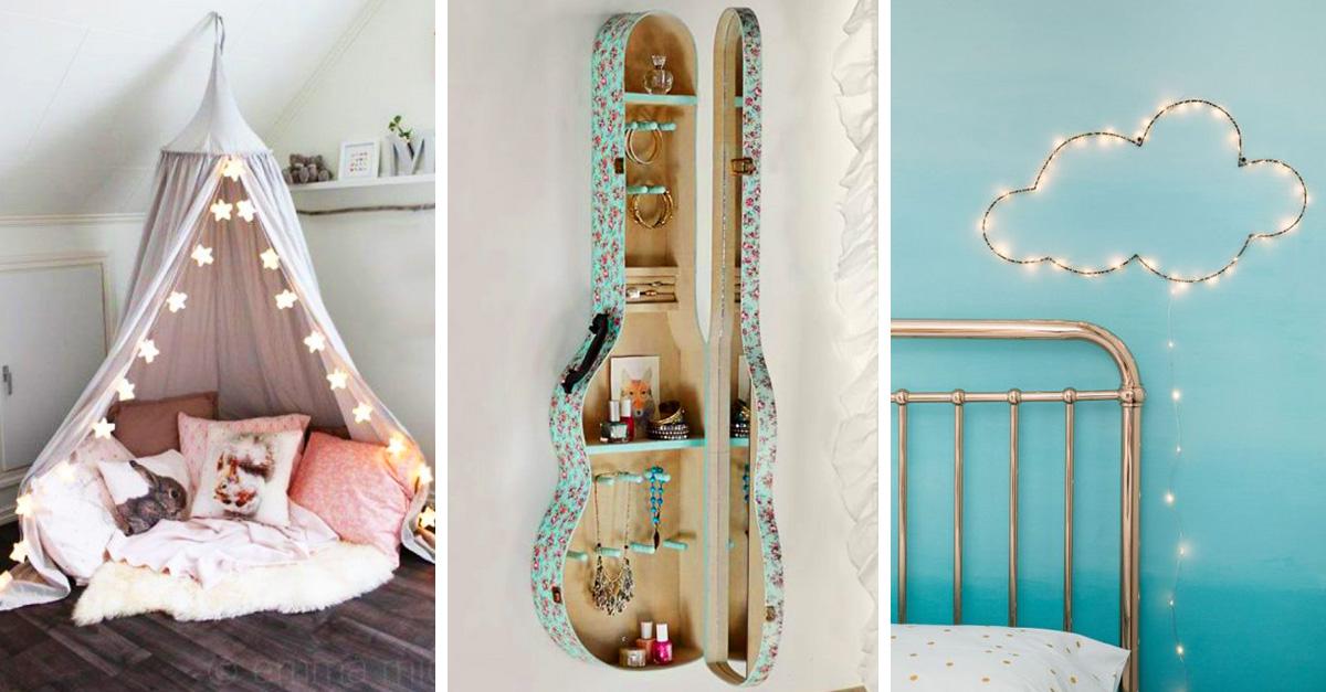 15 Secillas ideas para decorar tu habitacin y sus paredes