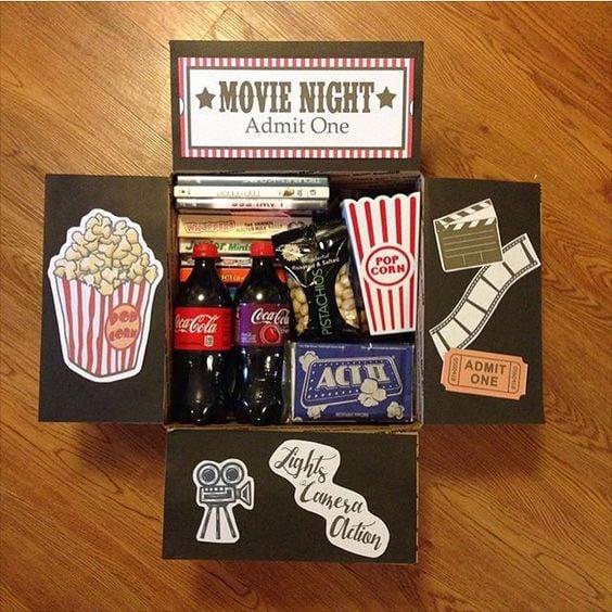 Kit para una noche de películas