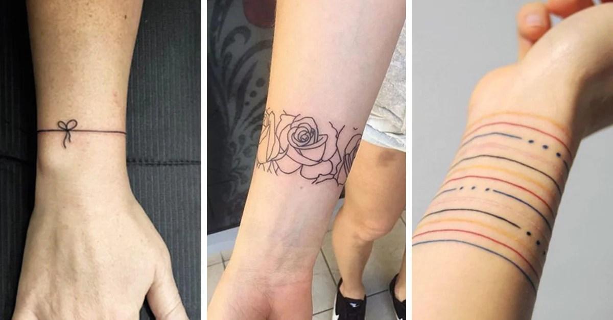 20 Tatuajes De Brazalete Para Que Elijas Cuál Hacerte