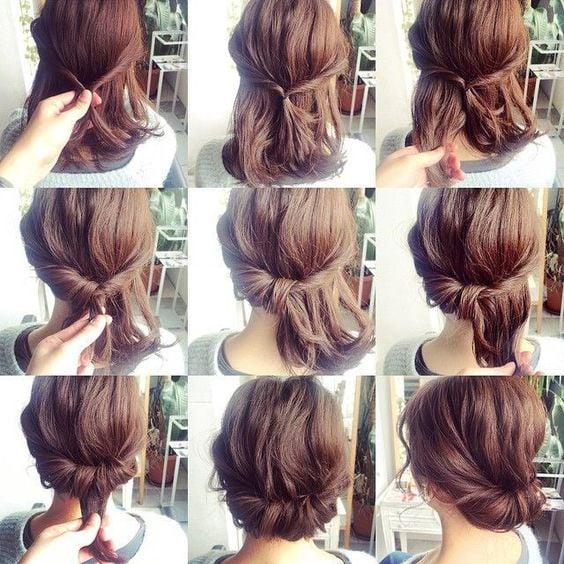 15 Peinados fciles de hacer para chicas con cabello corto
