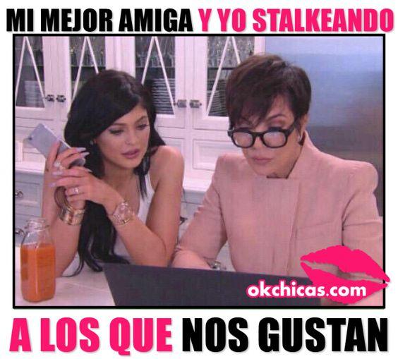 amigas stalker