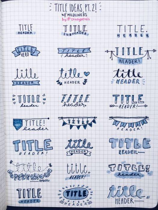 15 Ideas para darle color y organizacin a tus cuadernos