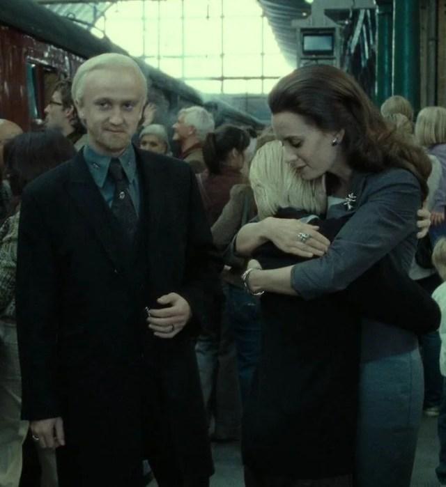 Escena de la saga de Harry Potter