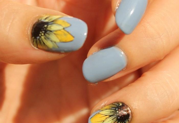 20 Hermosos Diseños De Arte Para Uñas Con Girasoles