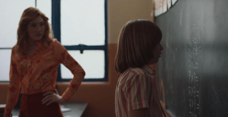 Escena de Luis Miguel la serie de Netflix cuando él es pequeño