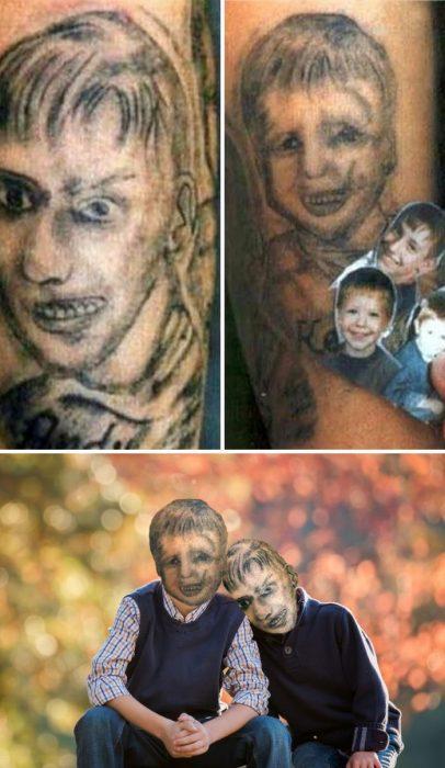 20 Tatuajes Que Tienen Diseños Totalmente Horribles Y Raros