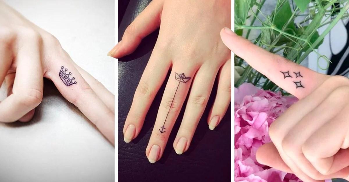 15 Diseños De Tatuajes En Los Dedos Que Te Harán Querer Uno